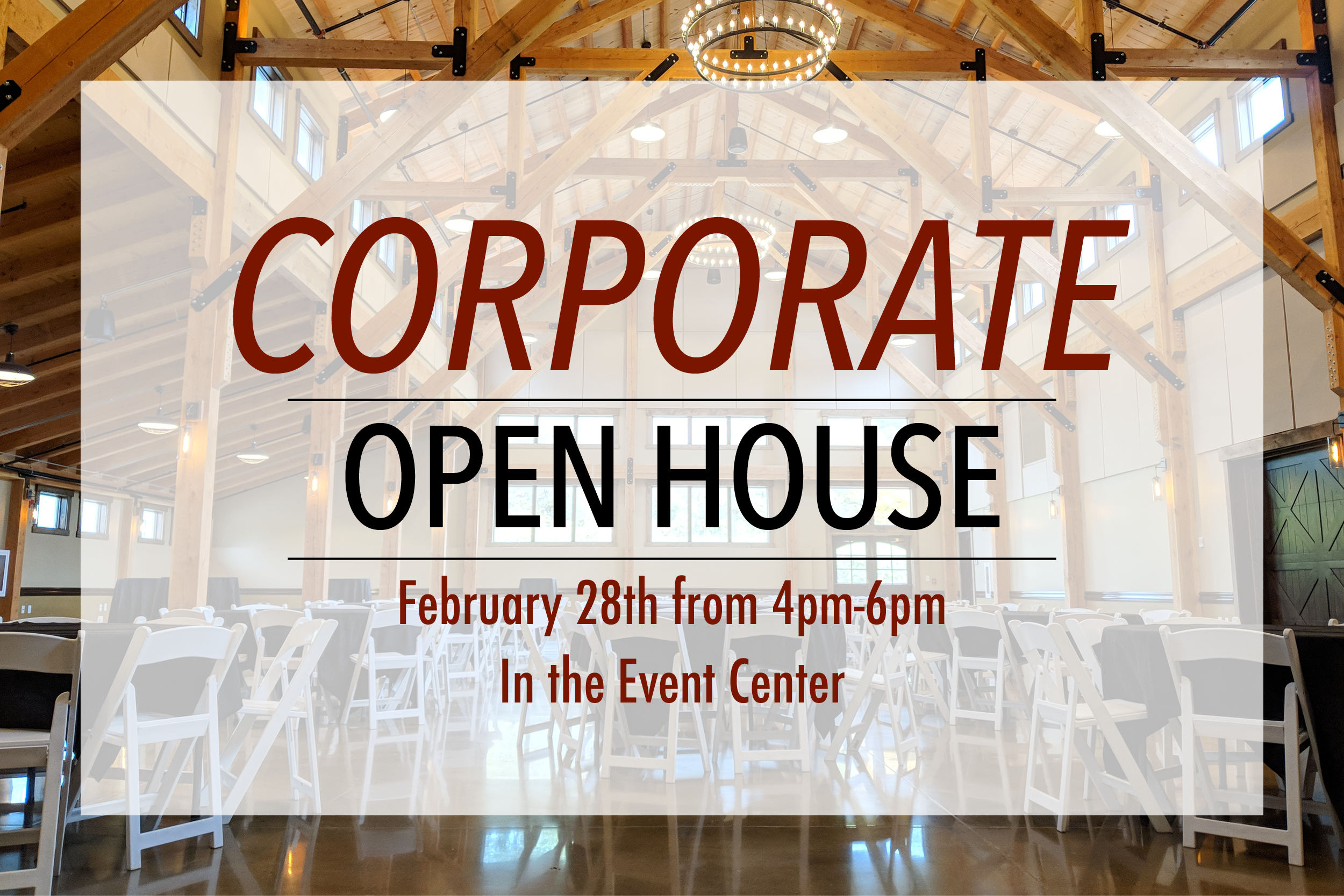 Corporate open house