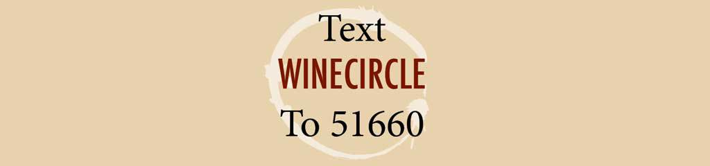 Text winecircle